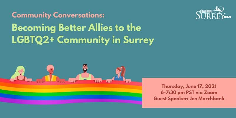 Community Conversations: Becoming Better Allies to the LGBTQ2 Plus Community